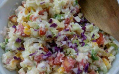 Delicious Creamy Salad