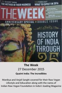 The Week 27 Dec 2015_Manikya_Anjali
