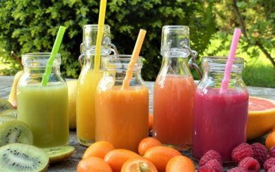 Green and Fruit Smoothies
