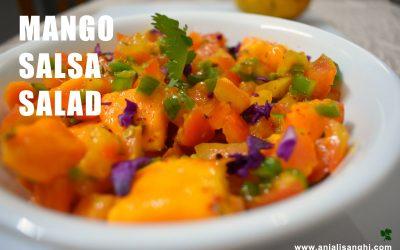 Mango Salsa Delight Salad